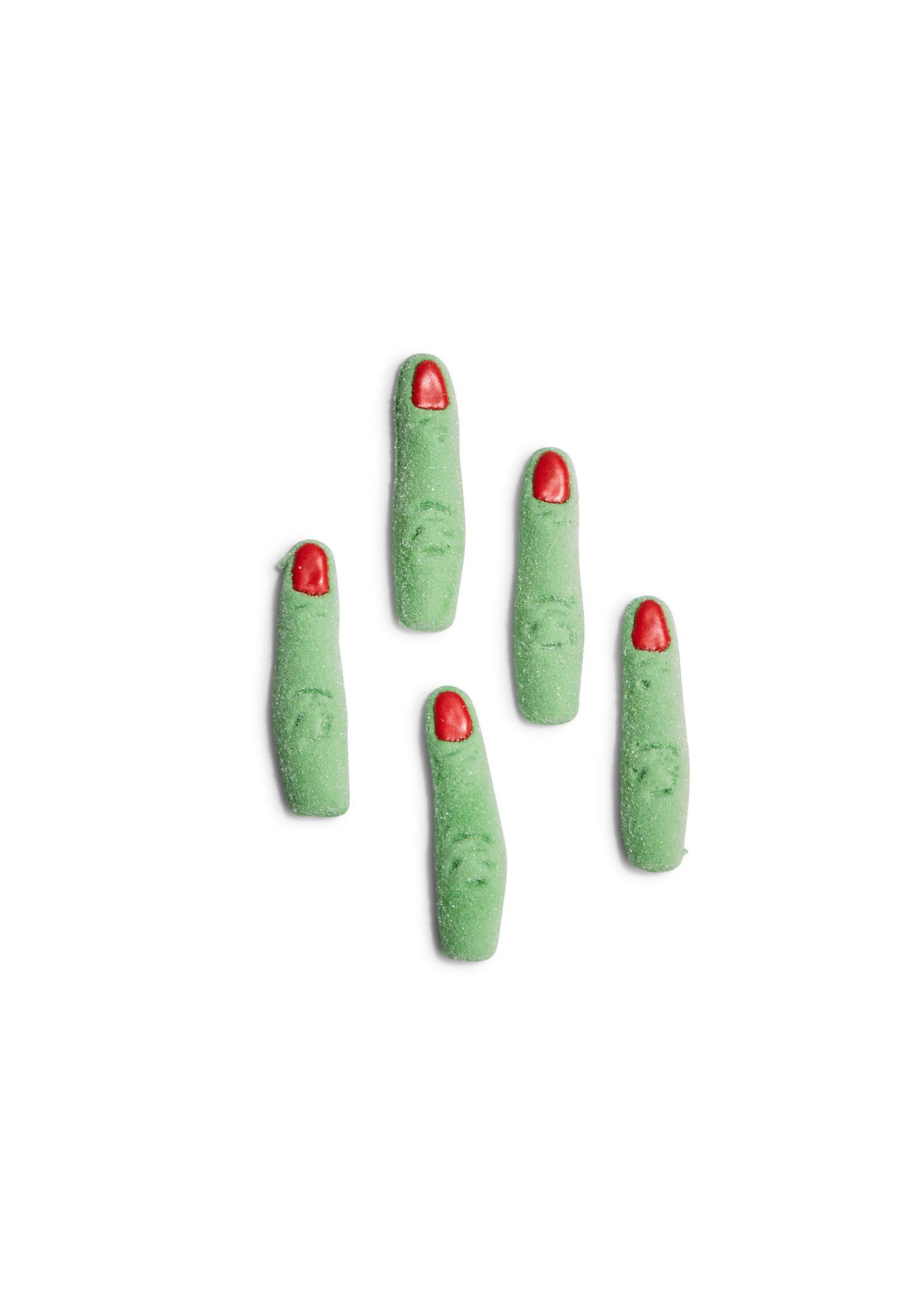 Two's Company, Inc. Witchy Green Fingers Mallow w Red Fingernails