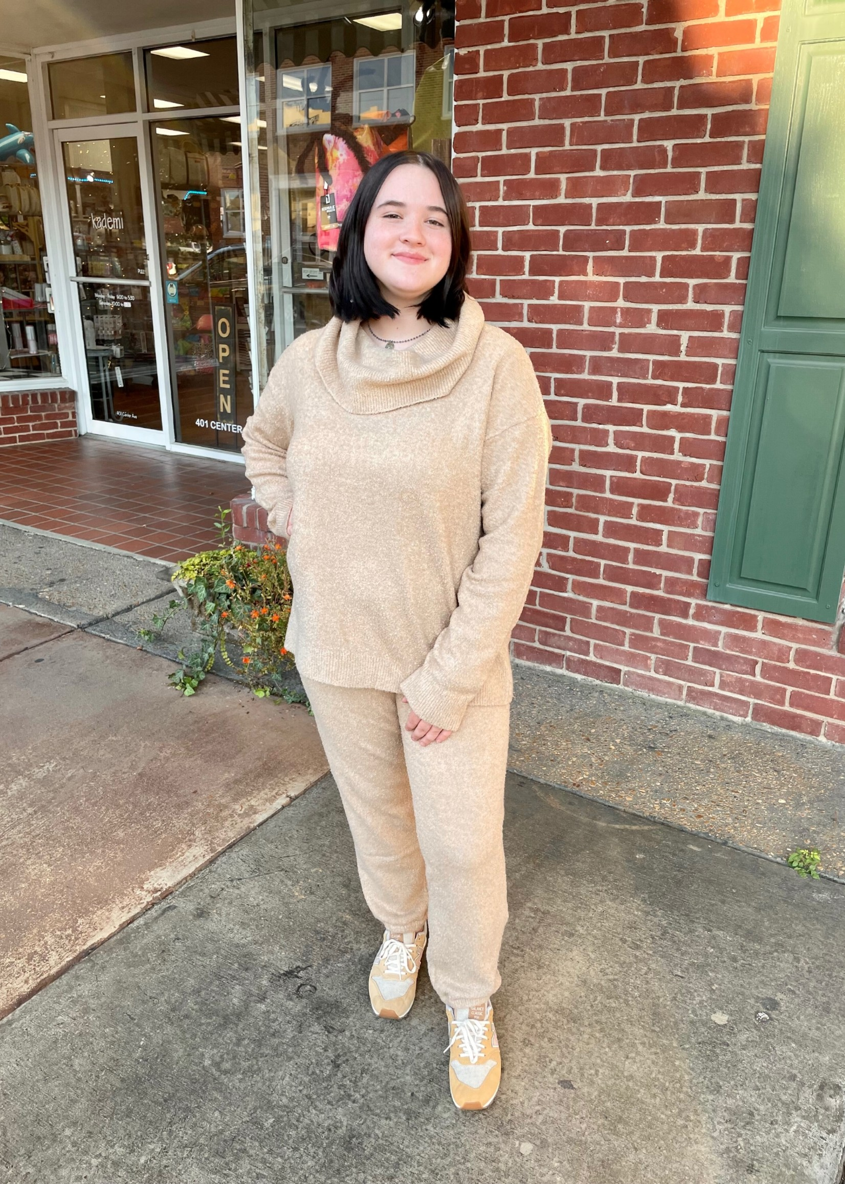 Barefoot Dreams Ecochic Cowl Neck Pullover