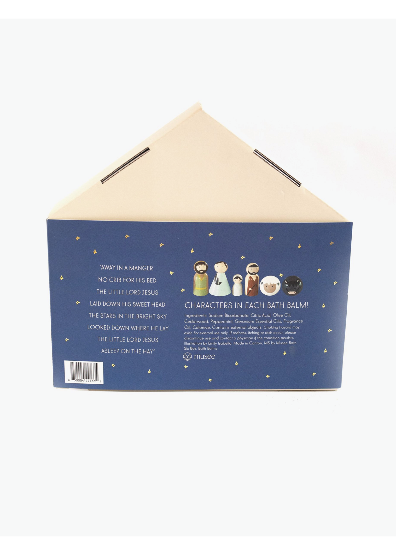 Musee Away In a Manger Holiday Gift Box