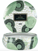 Voluspa Voluspa White Cypress Tin