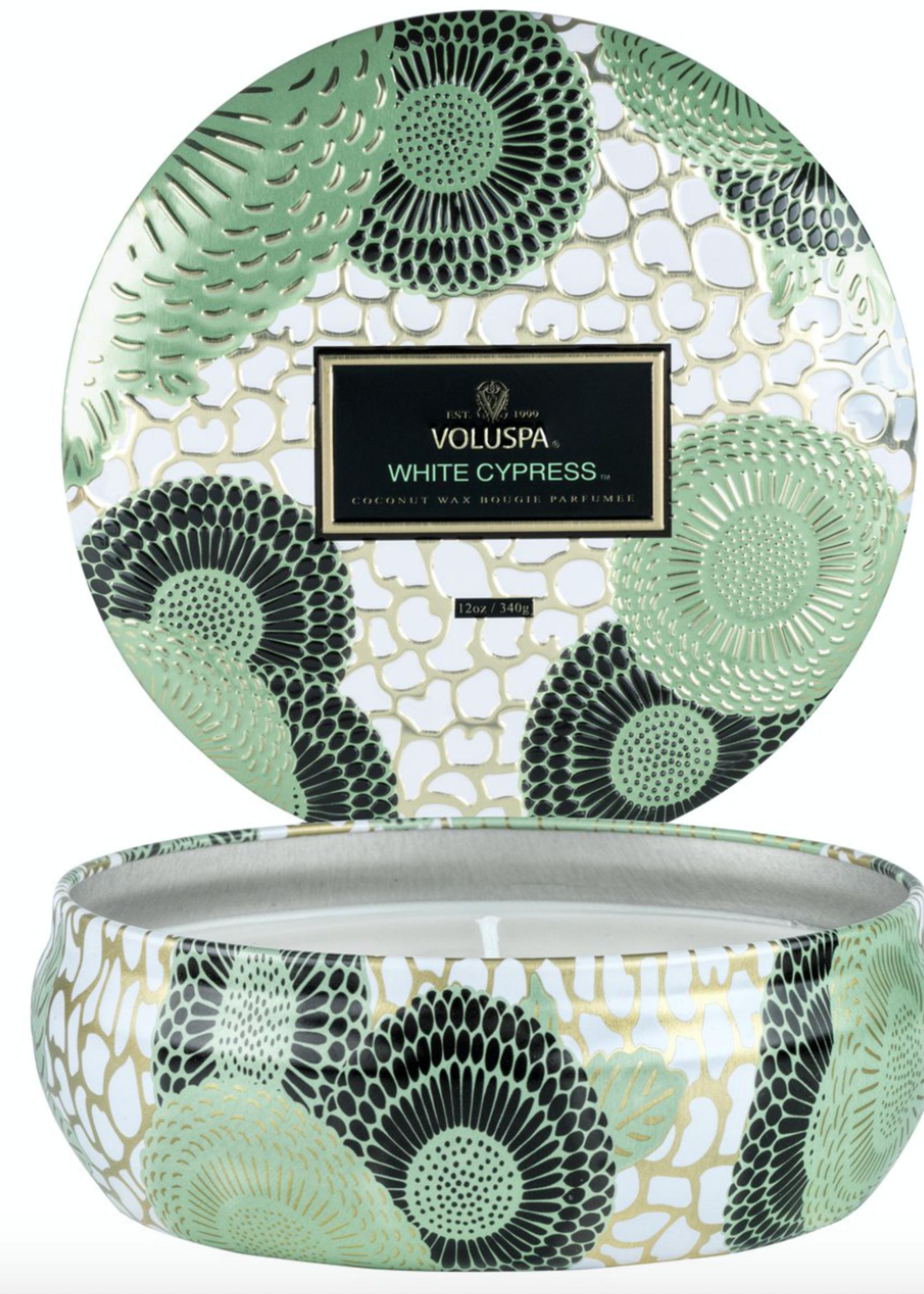 Voluspa  Voluspa White Cypress Tin