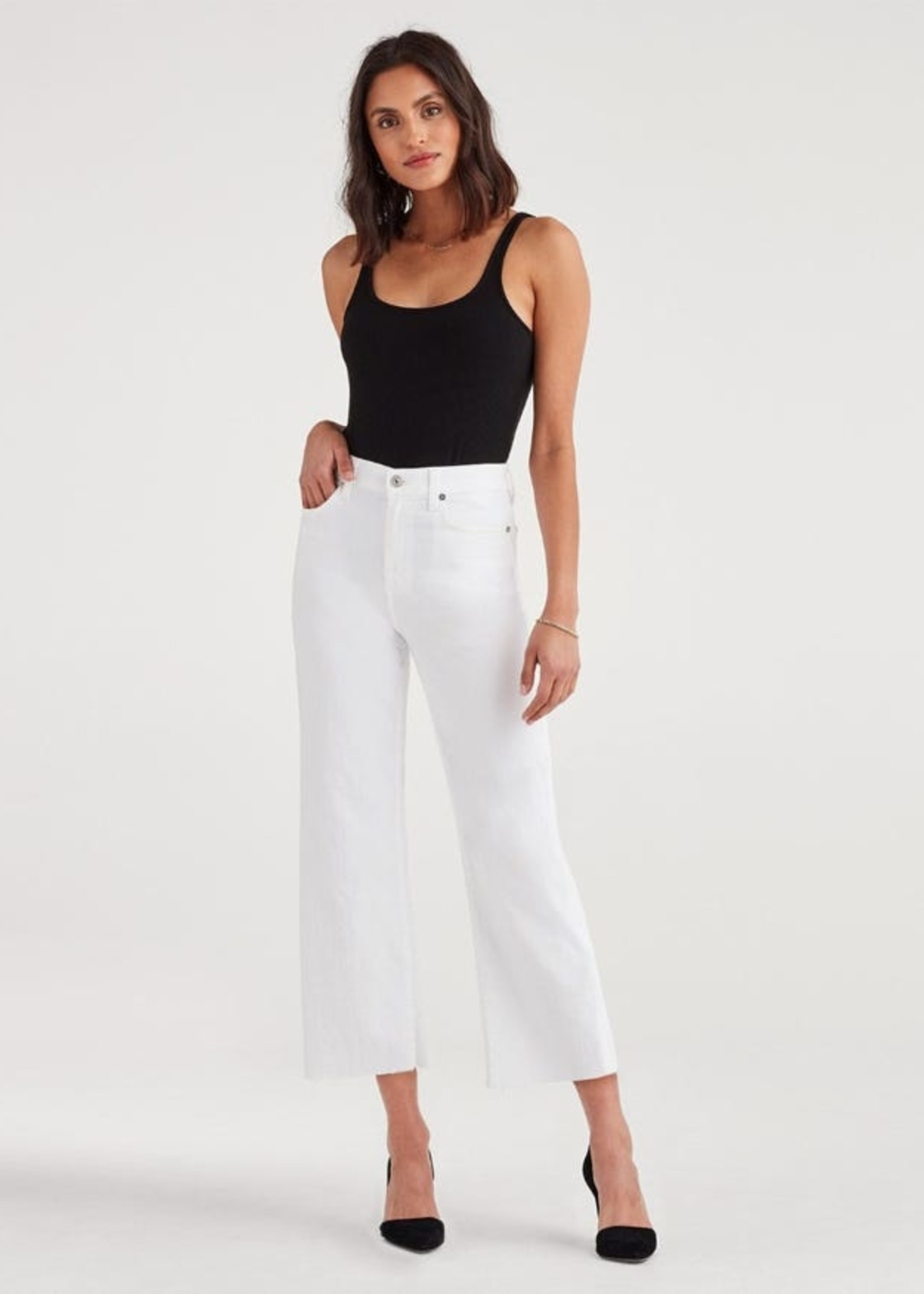 7 for all mankind White Cropped Alexa