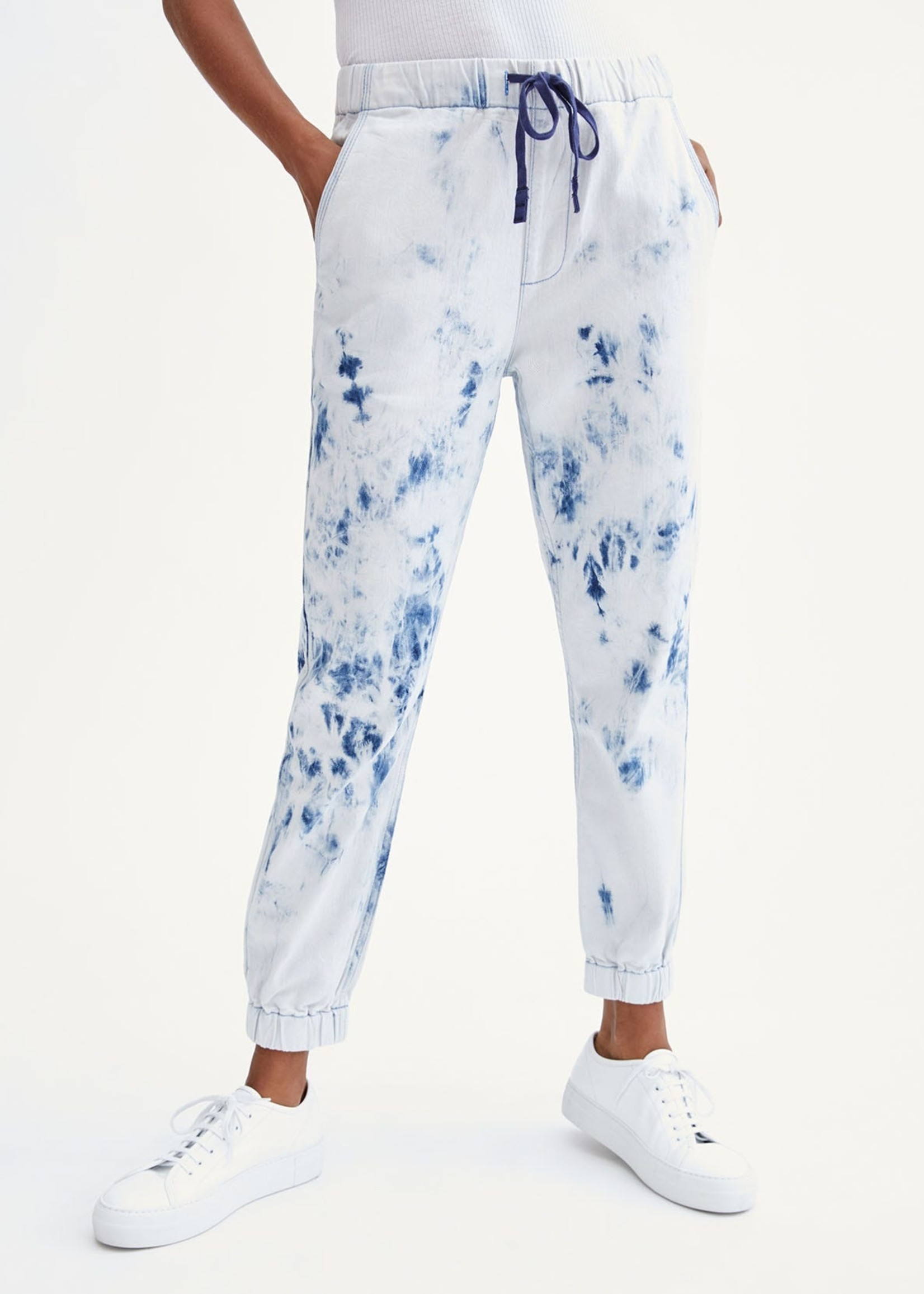 7 for all mankind Tie Dye Drawstring Jogger