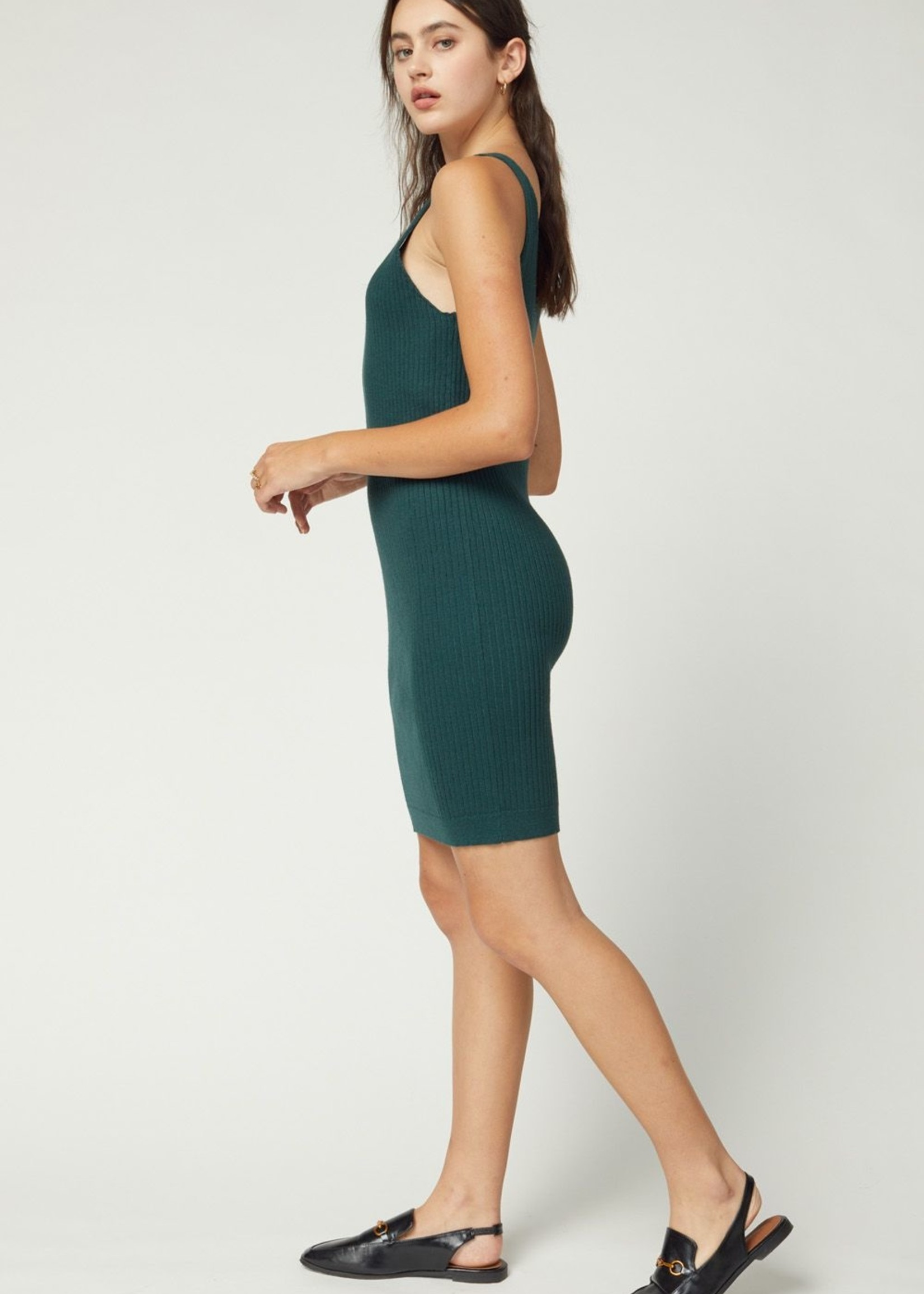 Entro Sweater Tank Dress
