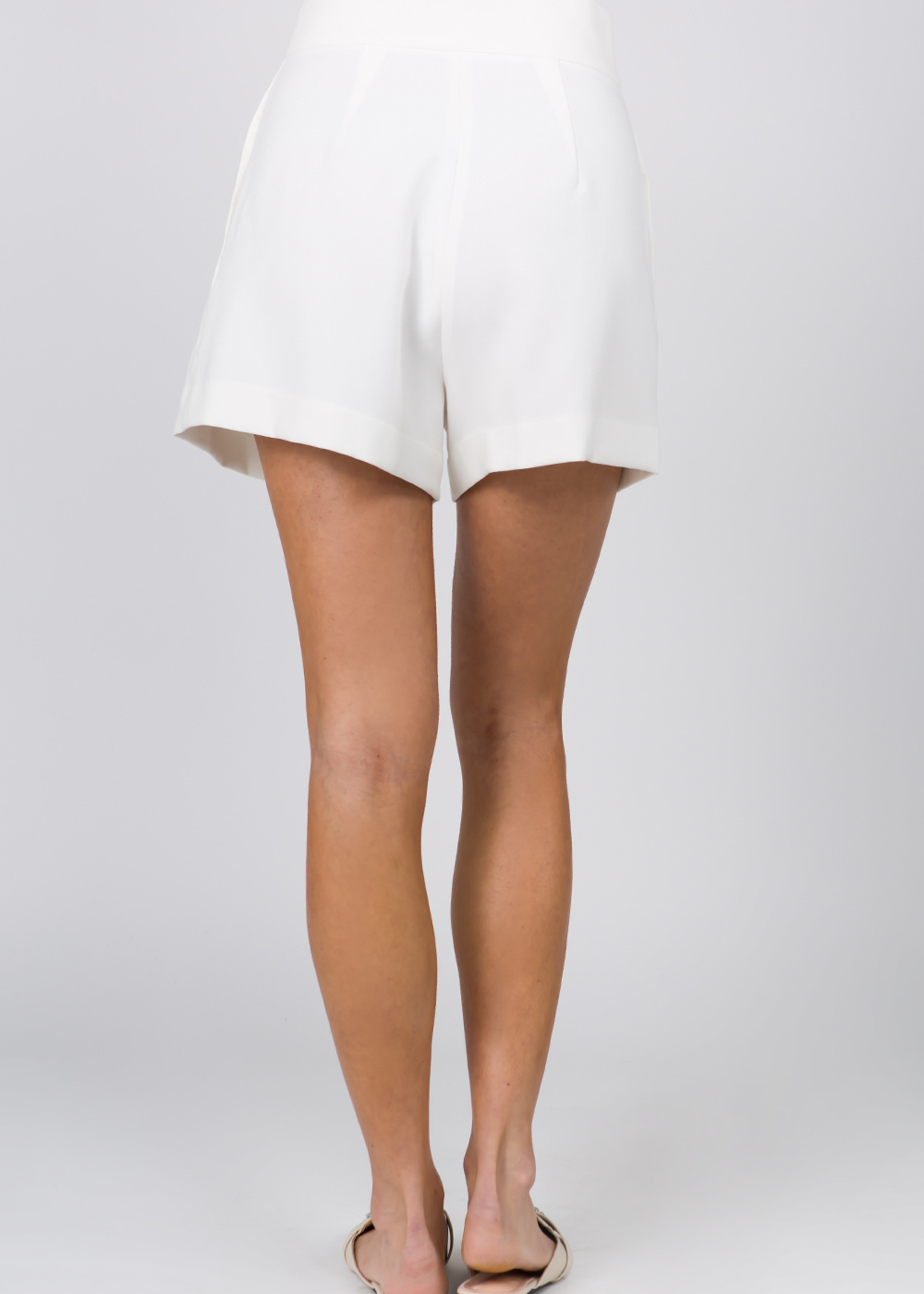 Fanco White Shorts