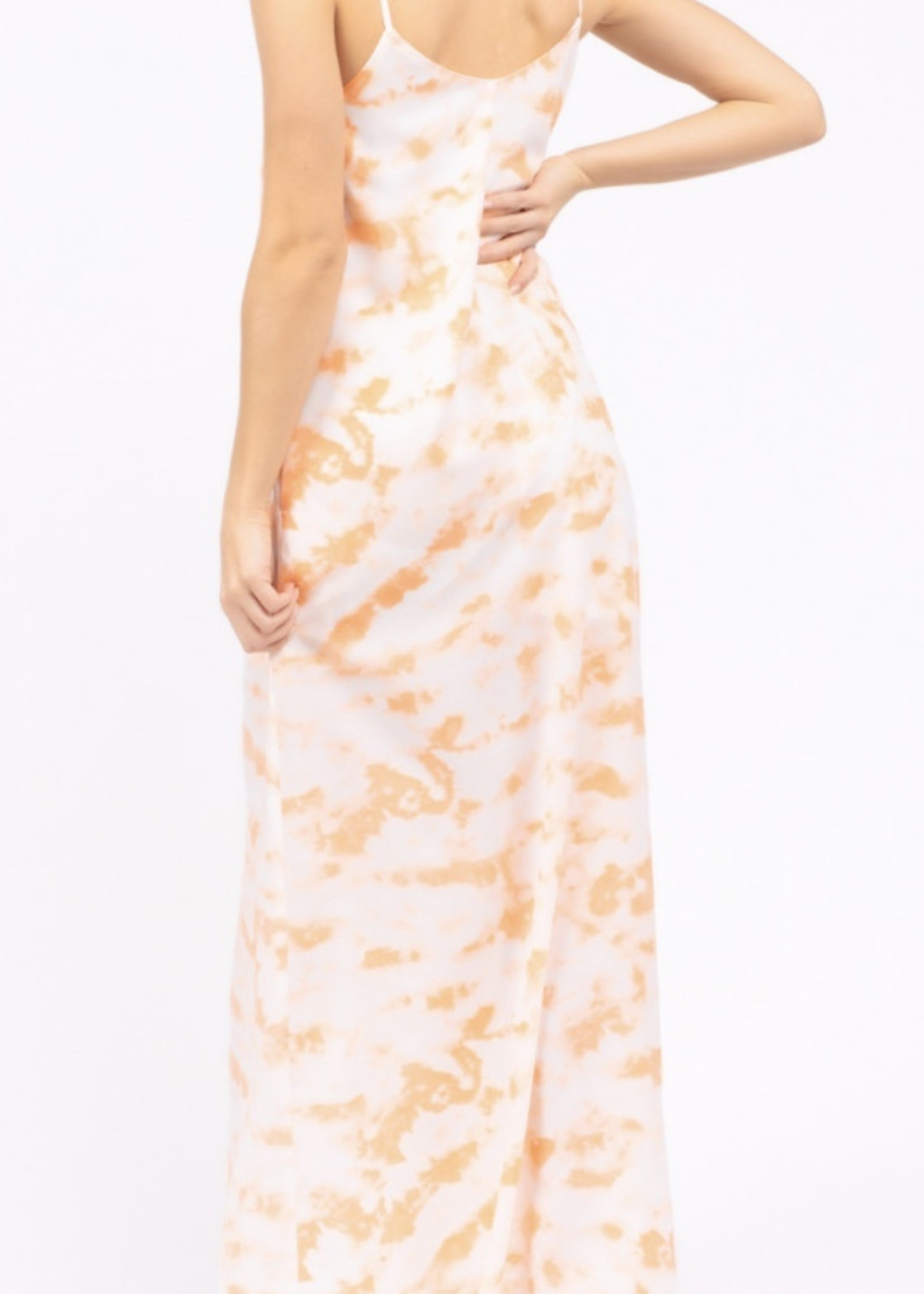 Le Lis Creamsicle Maxi Dress