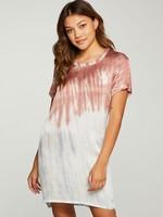 Chaser Tie Dye Silky Tee Dress