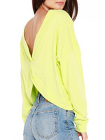 Bobi Reversible Neon Twist Top