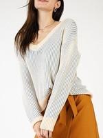 Sage the Label Jamie V Neck Sweater