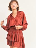 Reset by jane Smock Waist Mini Dress