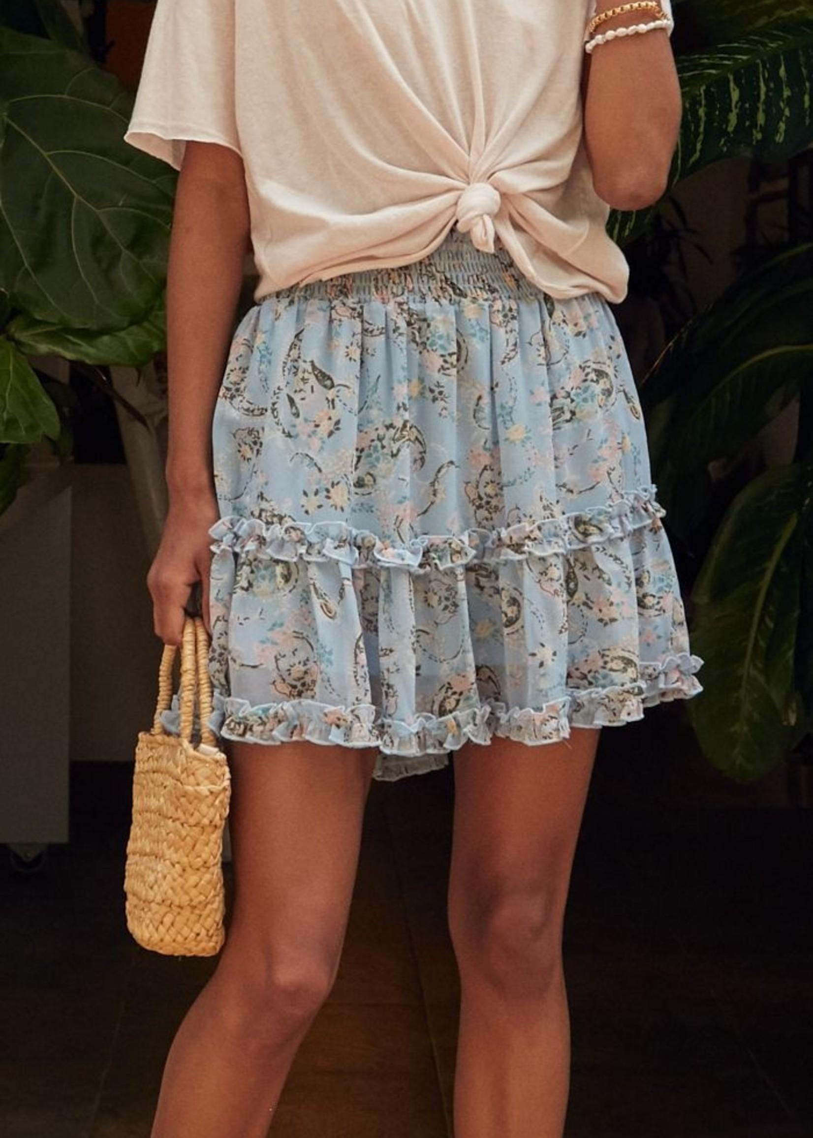 Sadie & Sage Soft Kiss Mini Skirt