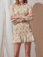 Storia Vintage Floral Smocked Dress