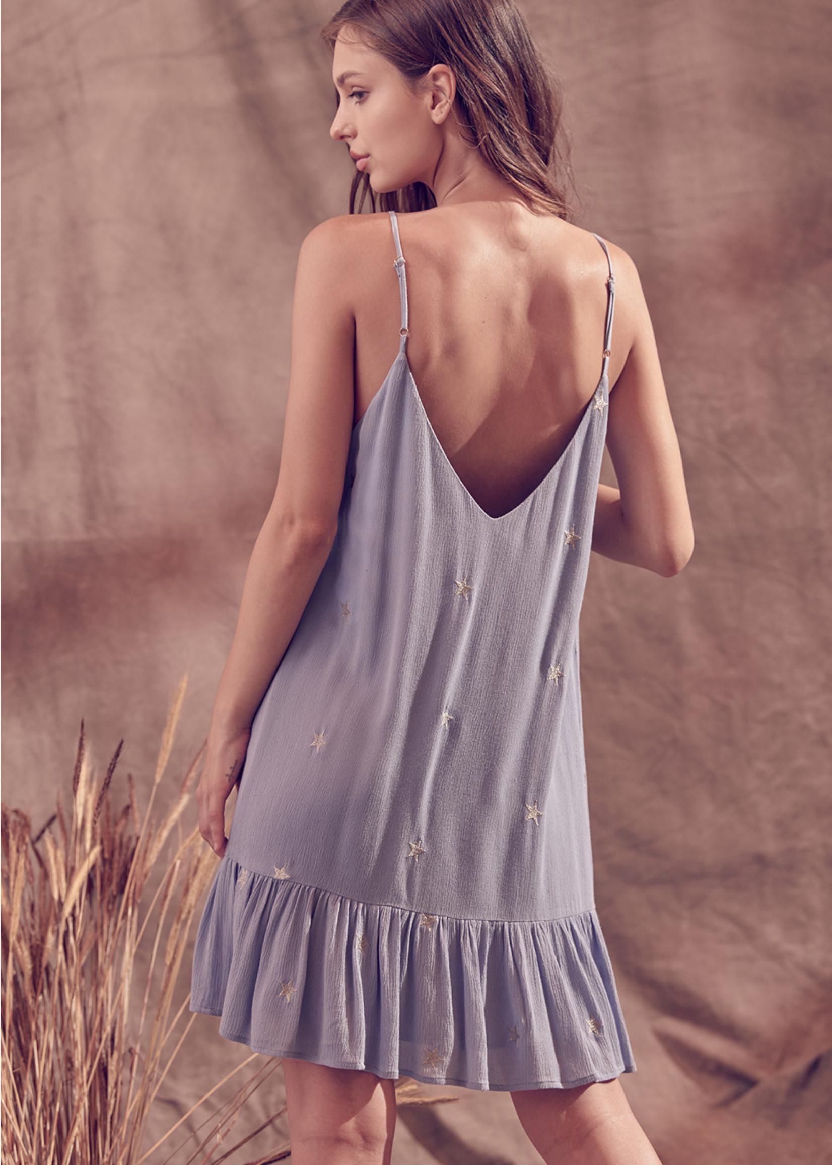 Storia Blue Star Dress