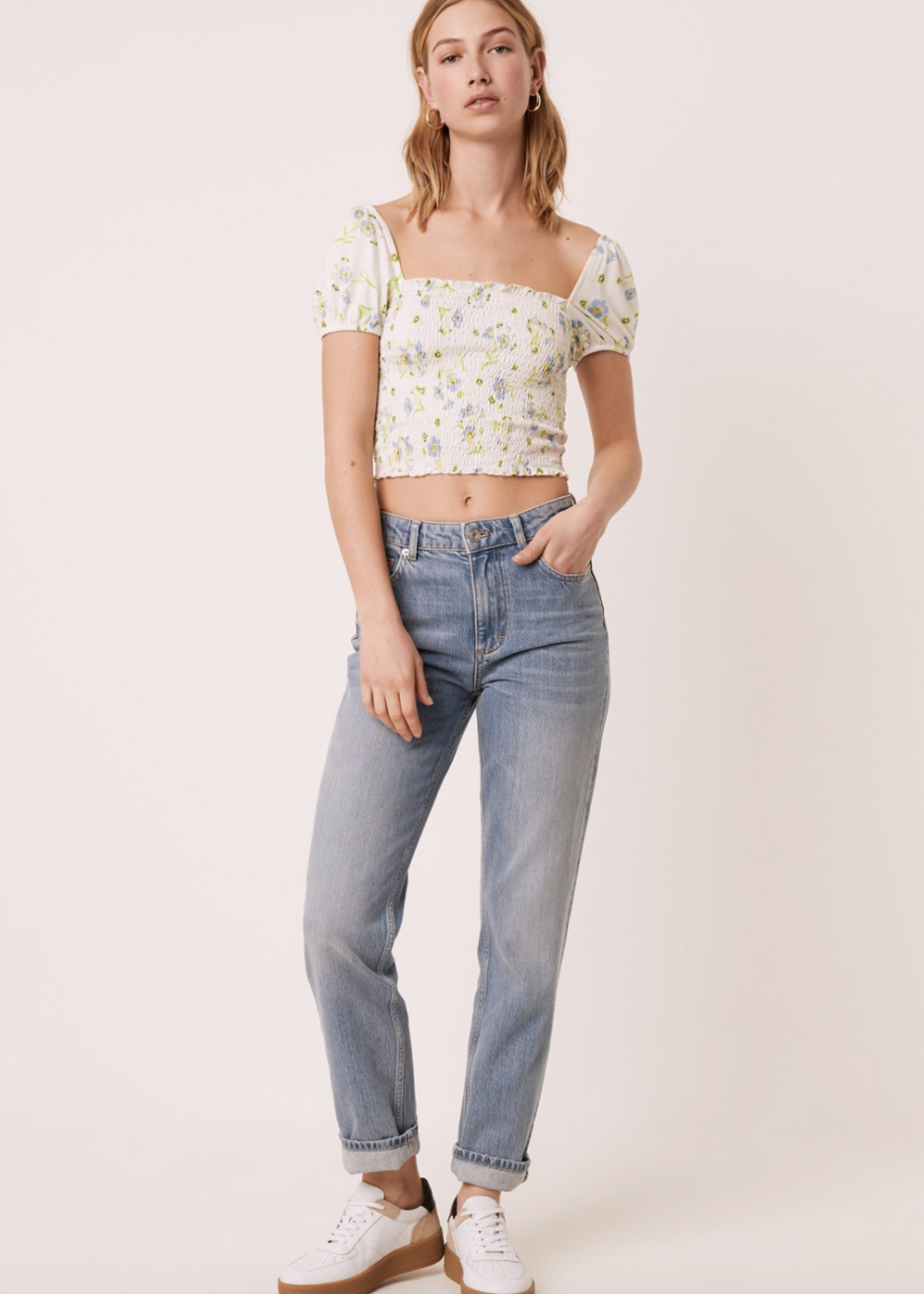 French Connection Meadow  Smock Top