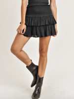 Reset by jane Silky layered skirt