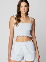 Blank NYC Sweet Escape Gingham Top