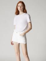 Blank NYC White Denim Shorts