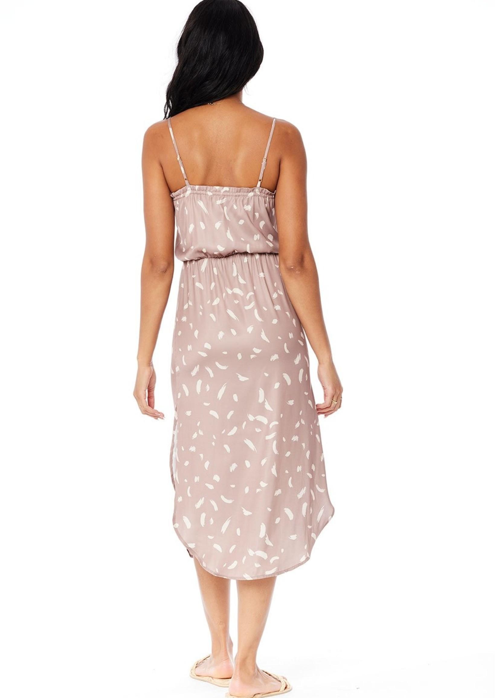 Saltwater Luxe Petal Strokes Dress