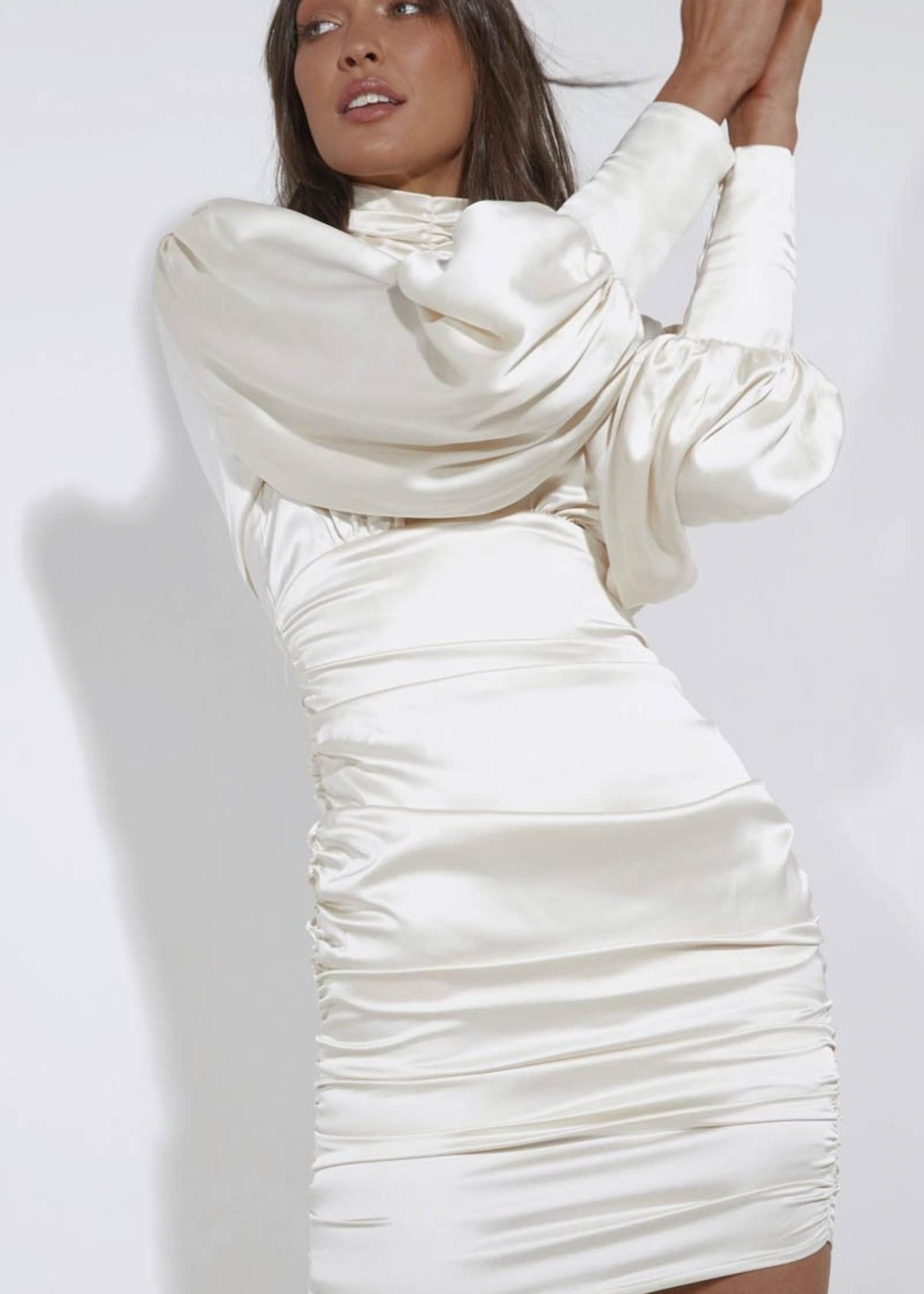 SNDYS Eden Satin Dress