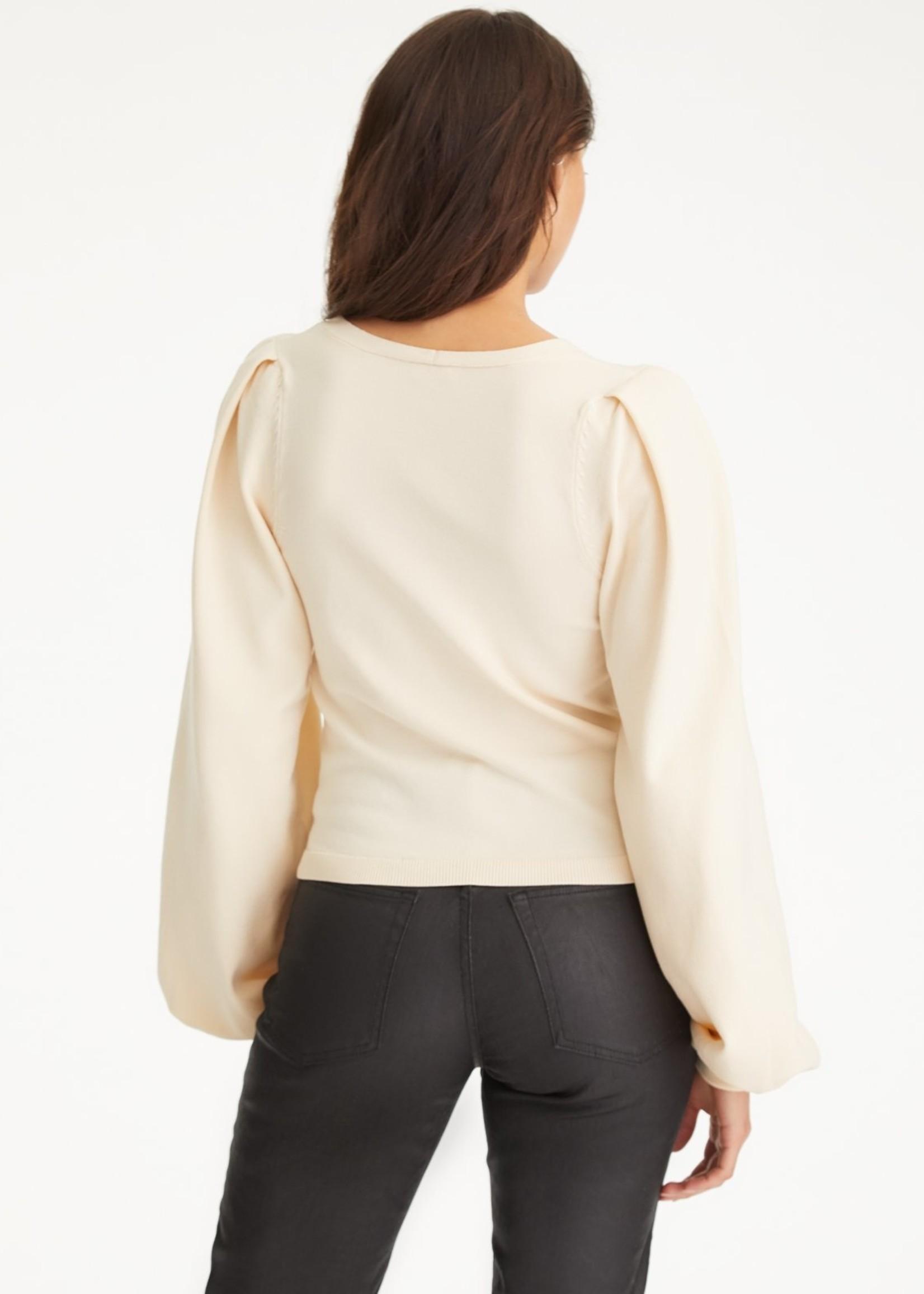 525 America Cream LS Sweater