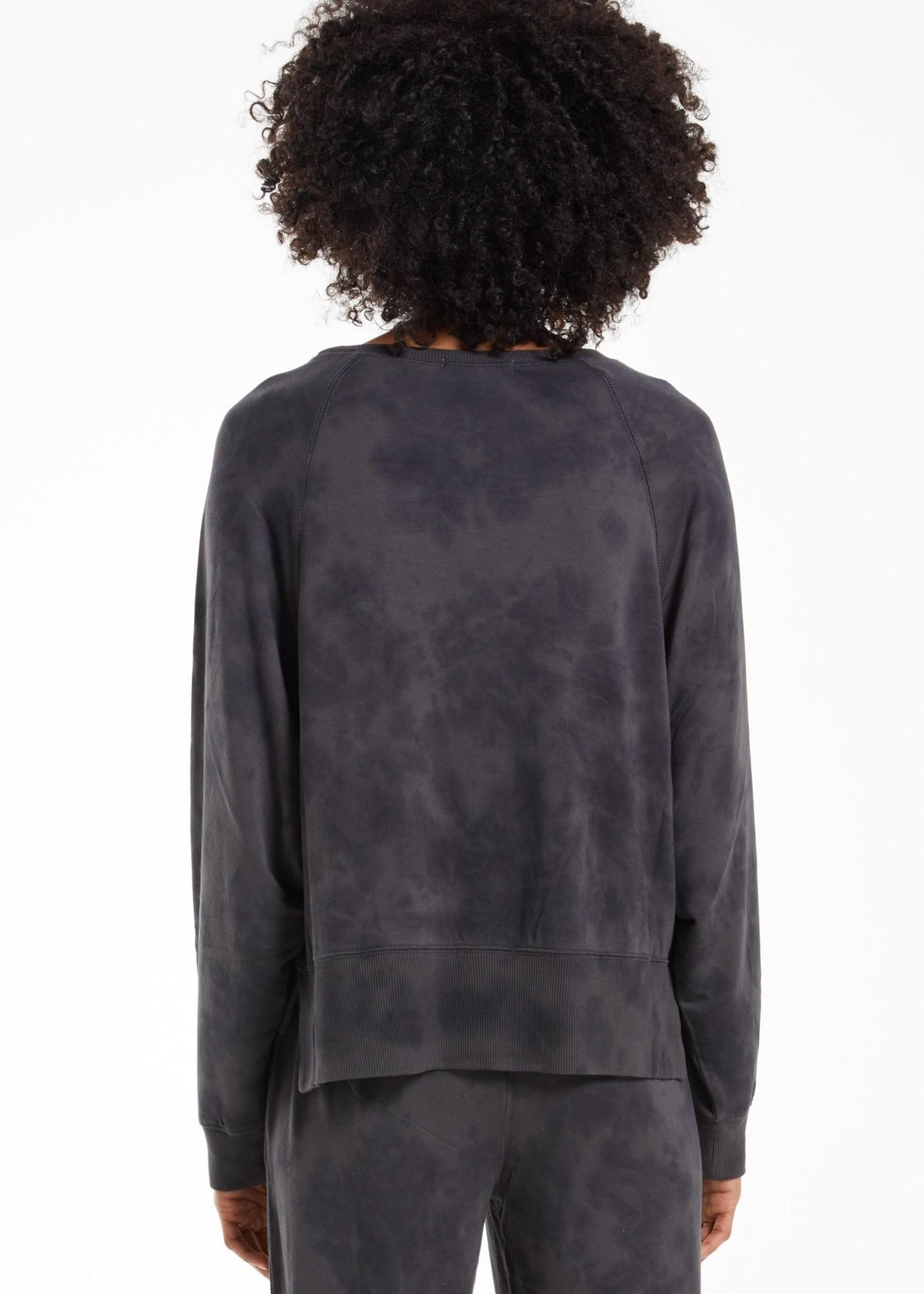 Z Supply Black Sleep Over Sweatshirt