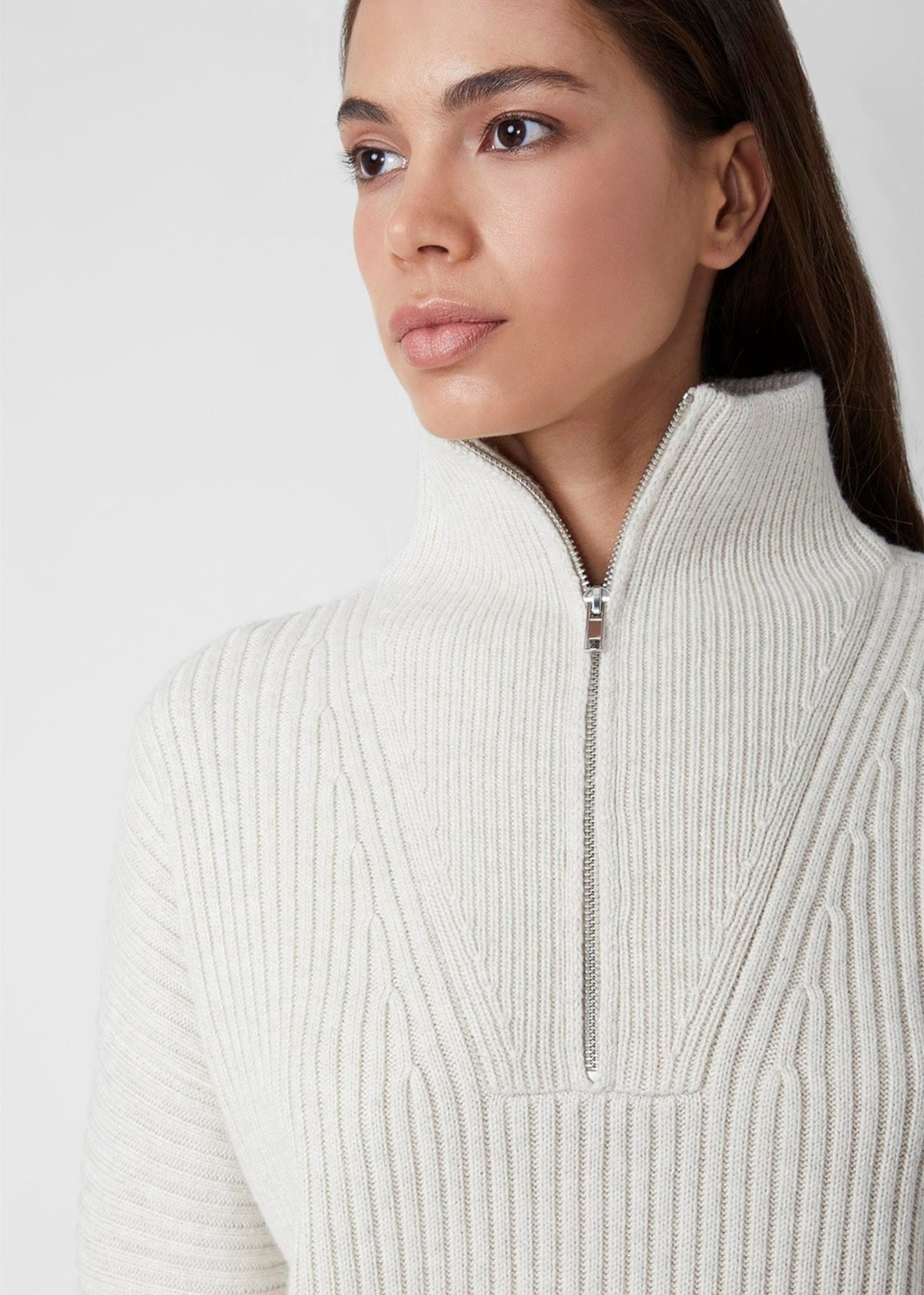 French Connection Lana Zip Sweater
