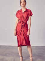 Do+Be Savvy Red Dress