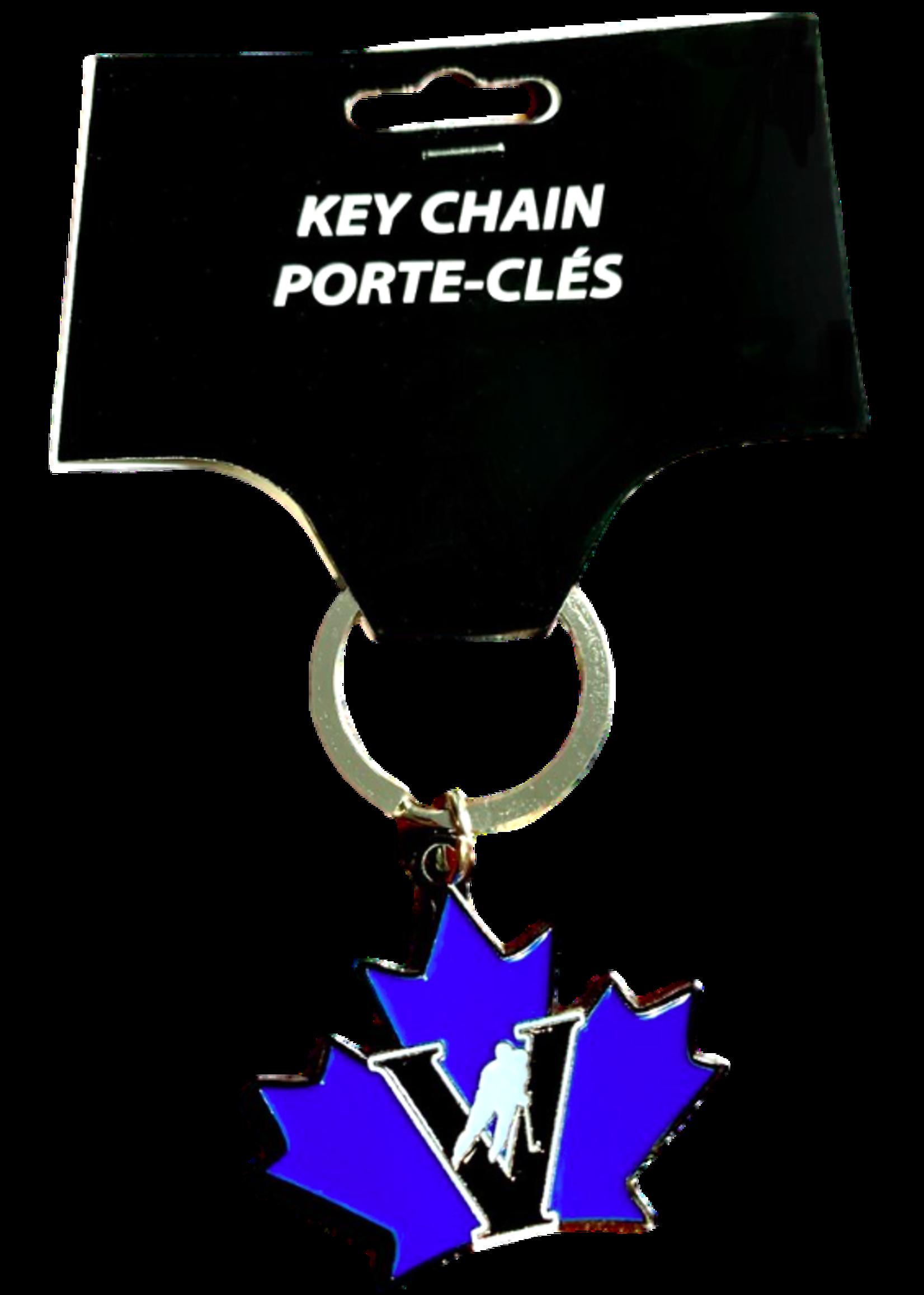 FOCO Vees metal key chain