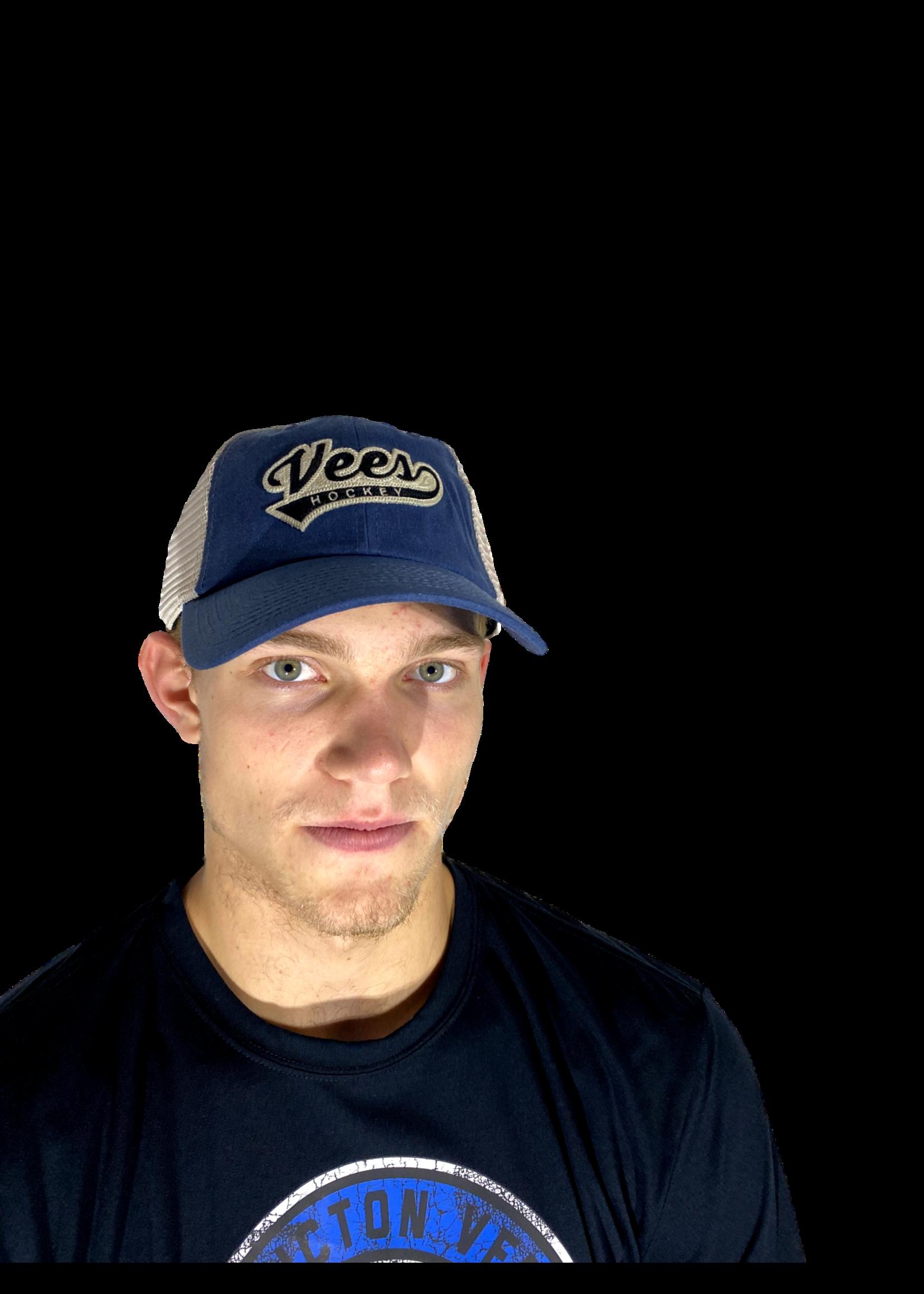 American Needle Penticton Vees Ball Hat-Waxed Bones
