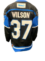 Bauer Wilson Game-Worn Jersey - Team Signed