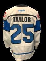 Bauer Kale Taylor Game Worn Jersey -Team signed