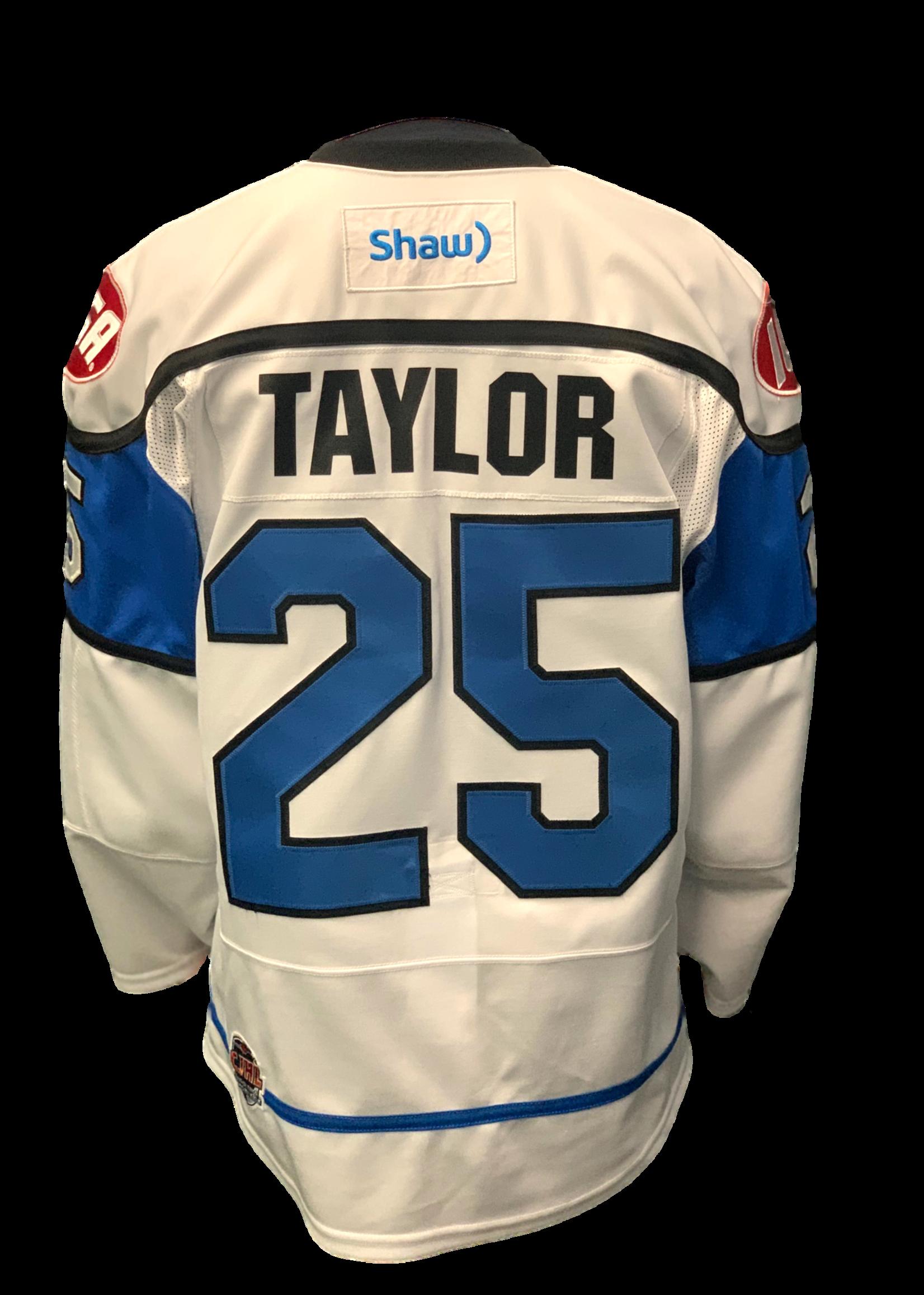 Bauer Kale Taylor Game-Worn Jersey -Team Signed