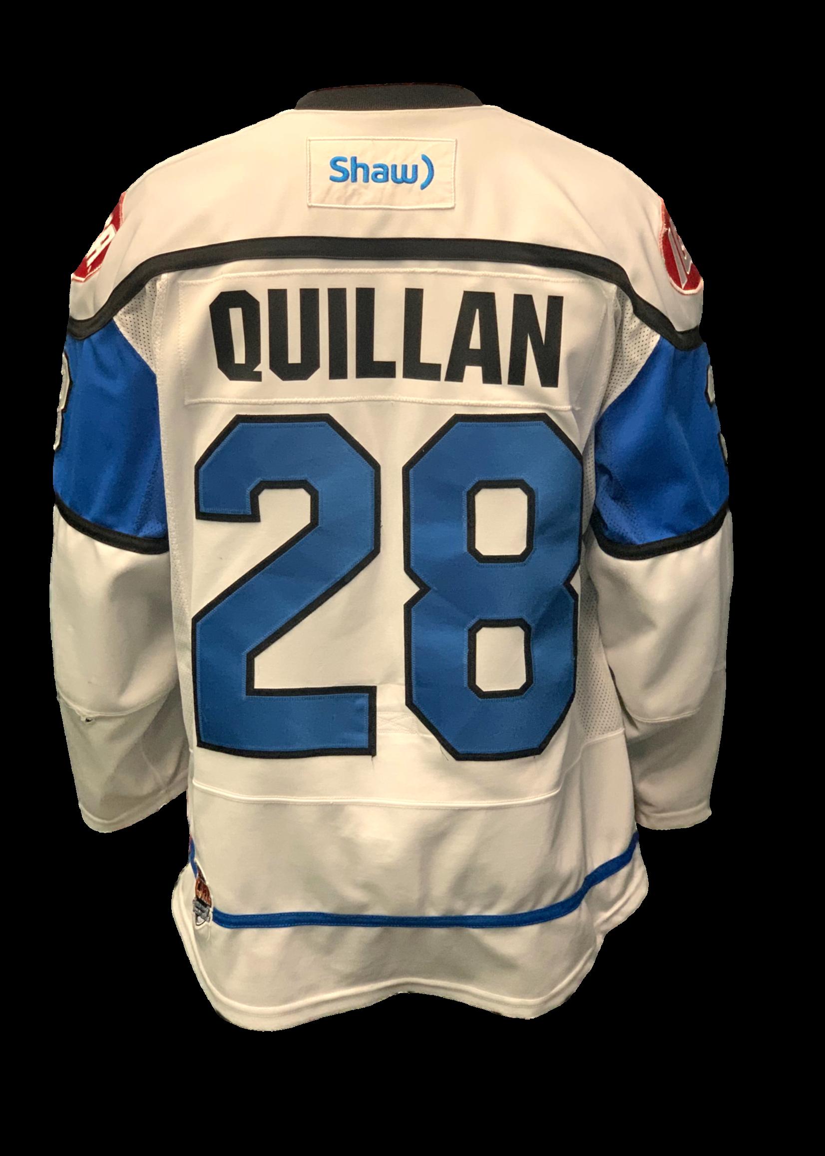 Bauer Penticton Vees Quillan Game Worn Jersey