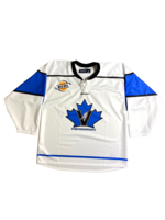 Bauer White Vees Sublimated Replica Jersey