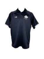 Under Armour Men's Under Armour Golf Shirt-Black