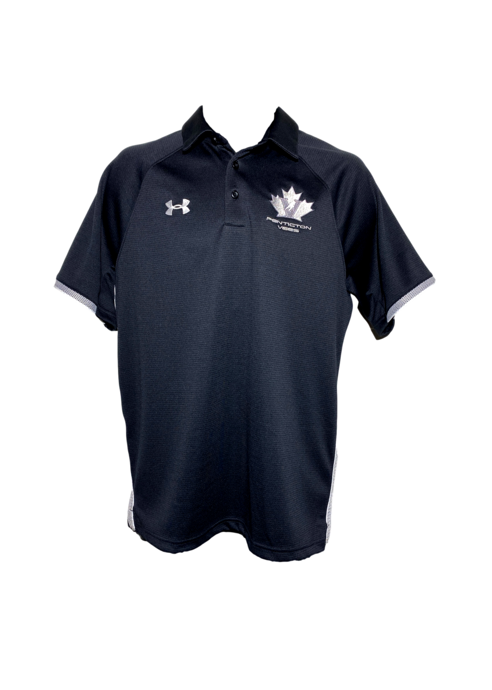 Under Armour Men's Under Armour Golf Shirt -Black