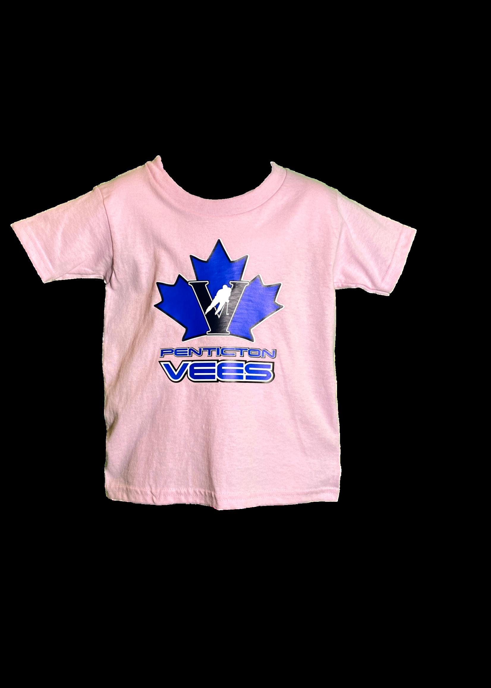 Gilden Vees Pink Toddler T Shirt