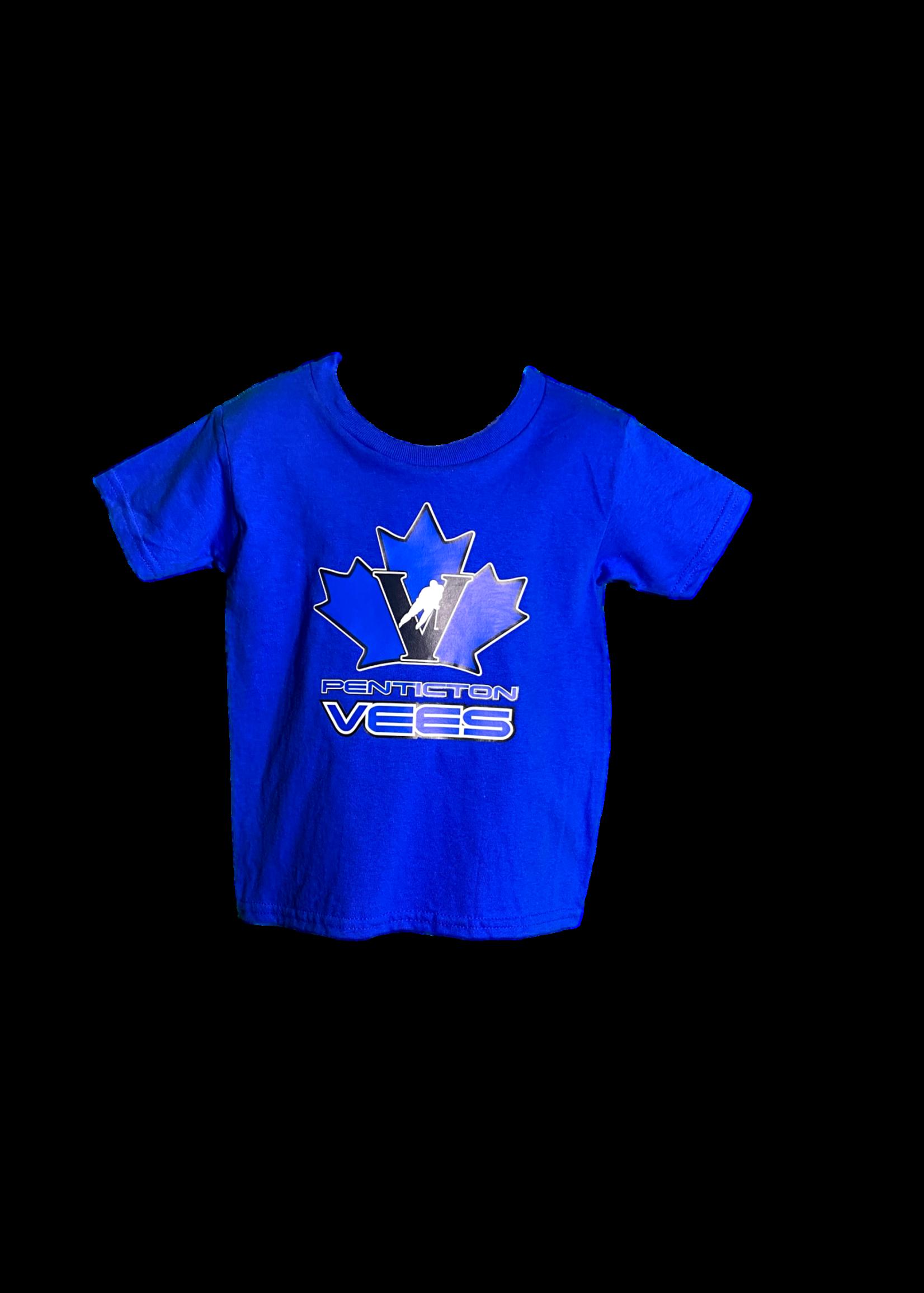 Gilden Vees Toddler T Shirt-Blue