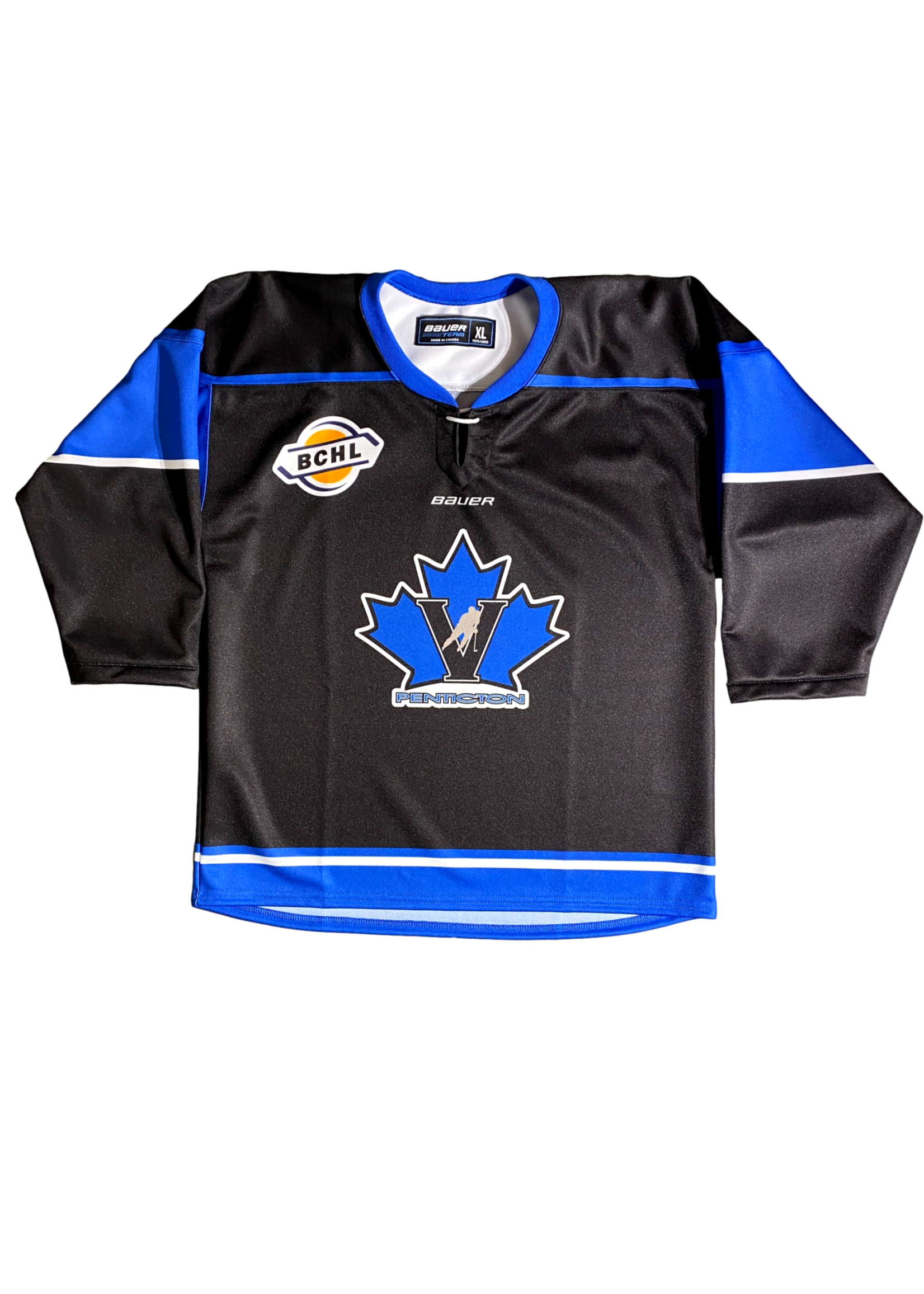 Bauer Vees Youth Bauer Replica Jersey-Black