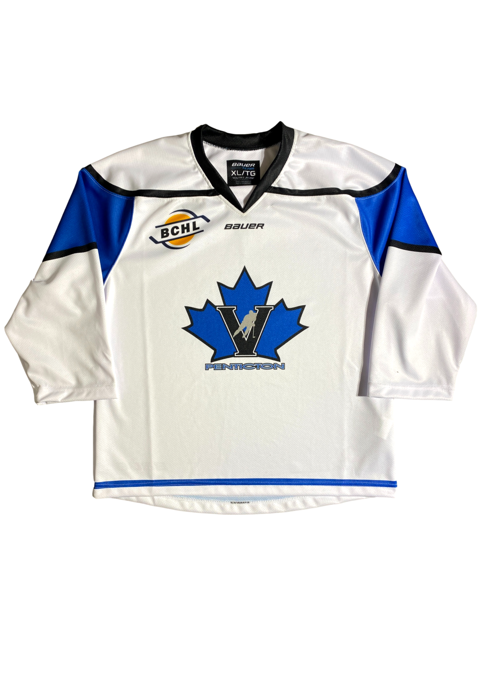 Bauer Vees Youth Bauer Replica Jersey- White