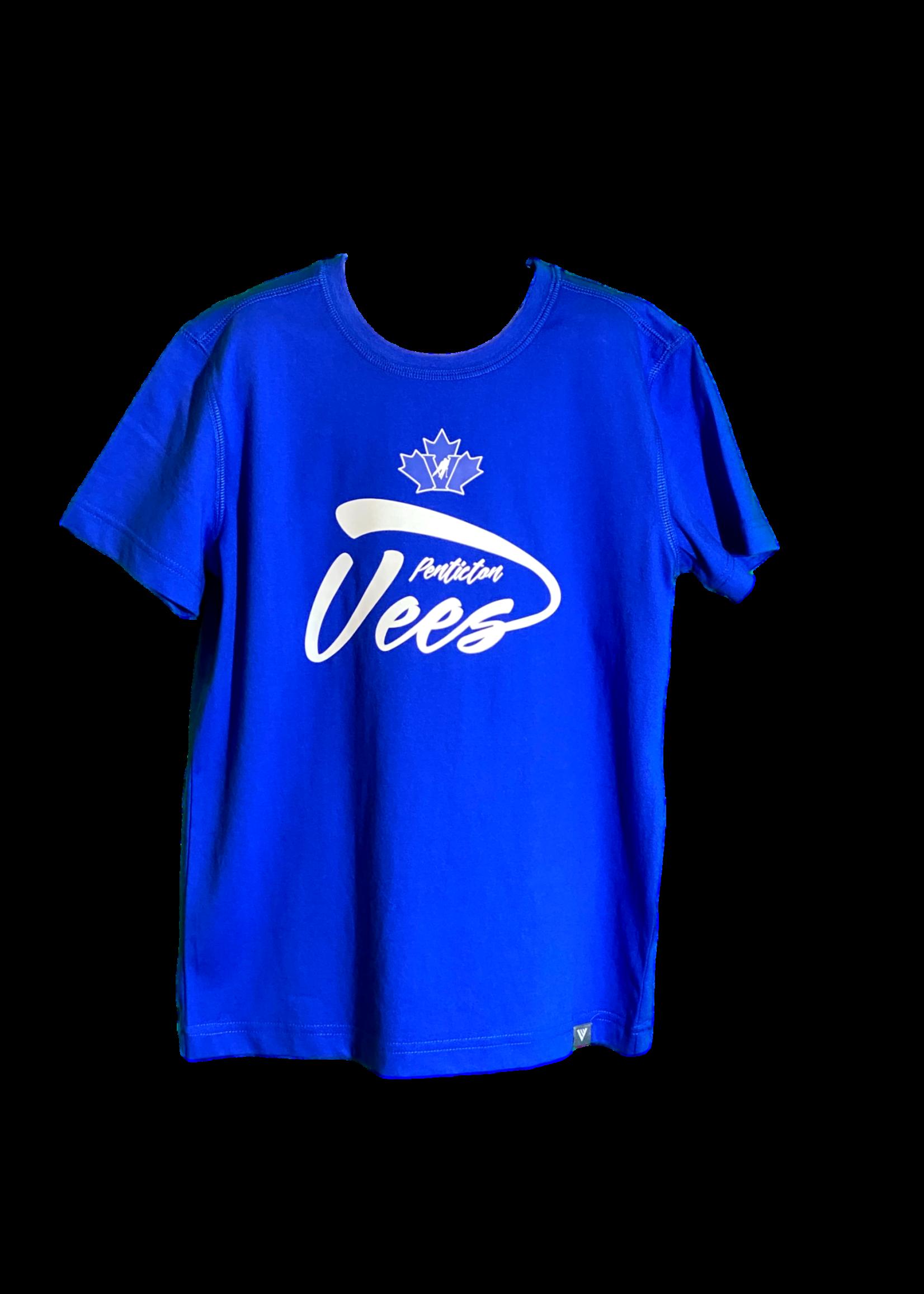 Levelwear Penticton Vees Youth Tee- Jr Principle