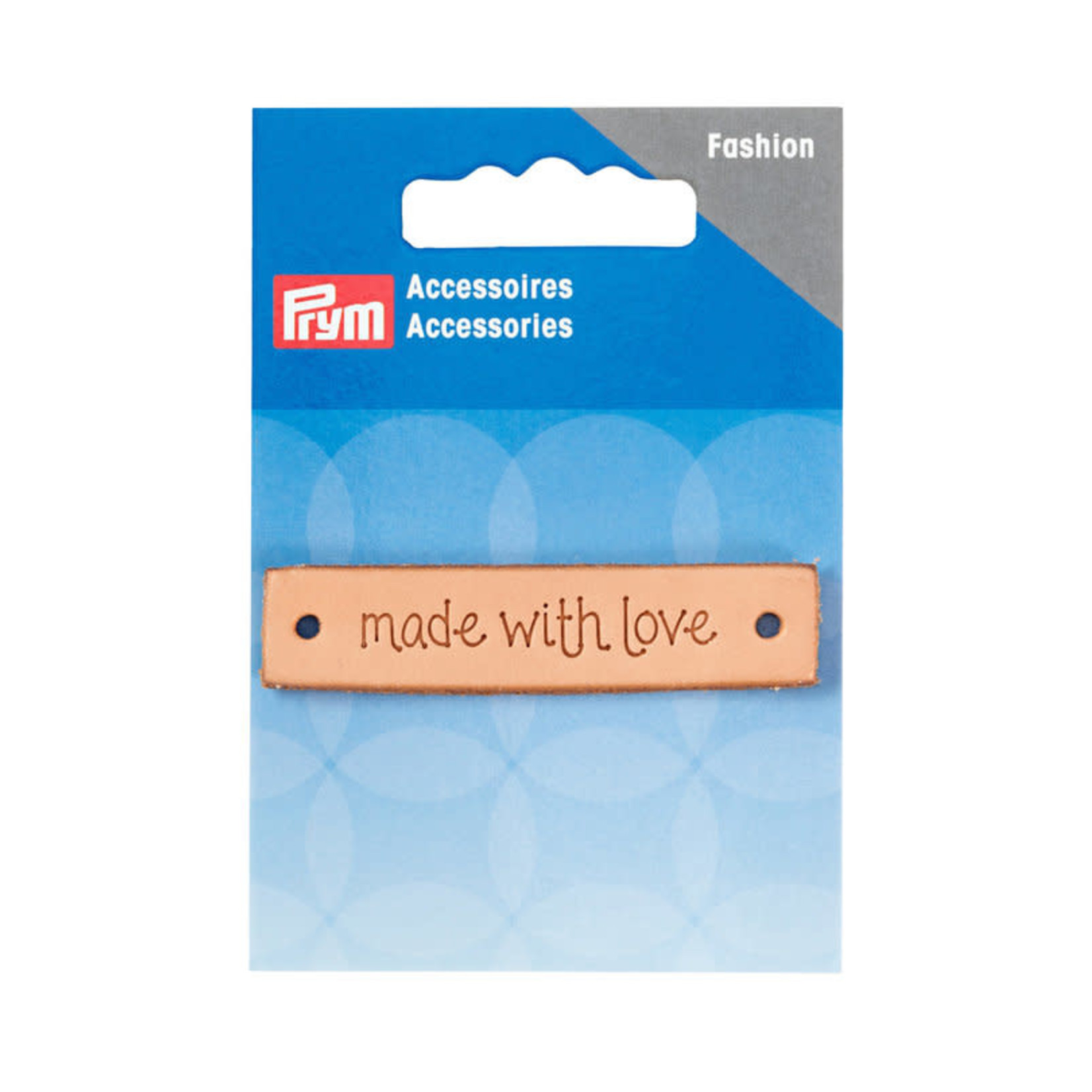 "Prym Label ""made with love"""