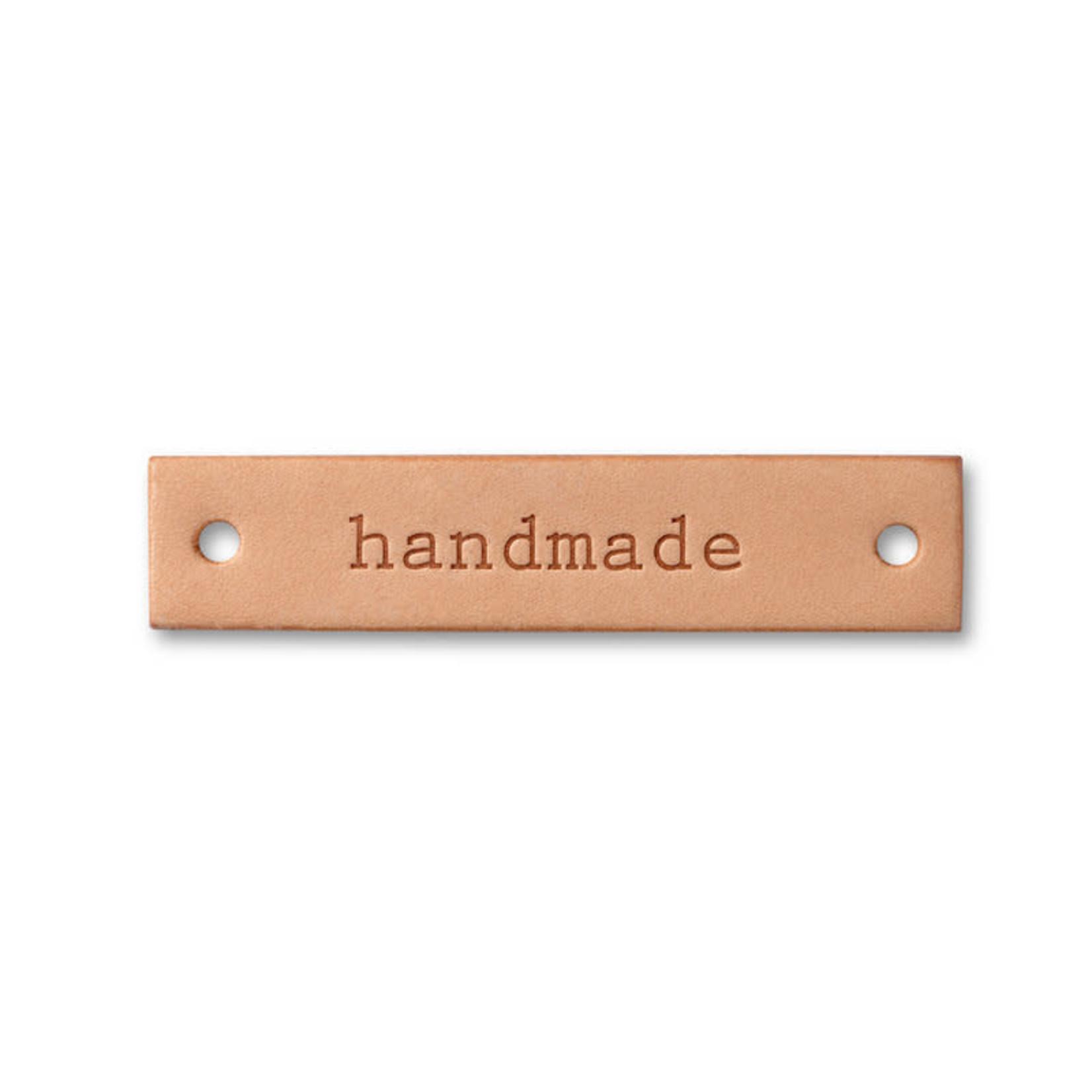 """Prym Prym """"Handmade"""" Leather Label"""