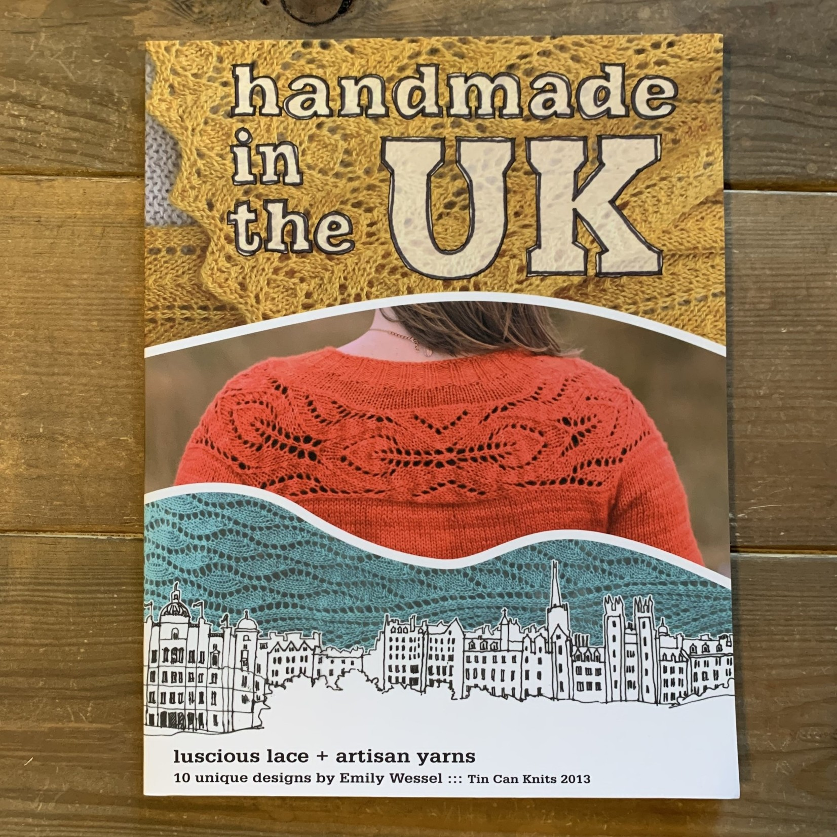 Tin Can Knits Handmade in the UK: luscious lace + artisan yarns by Emily Wessel