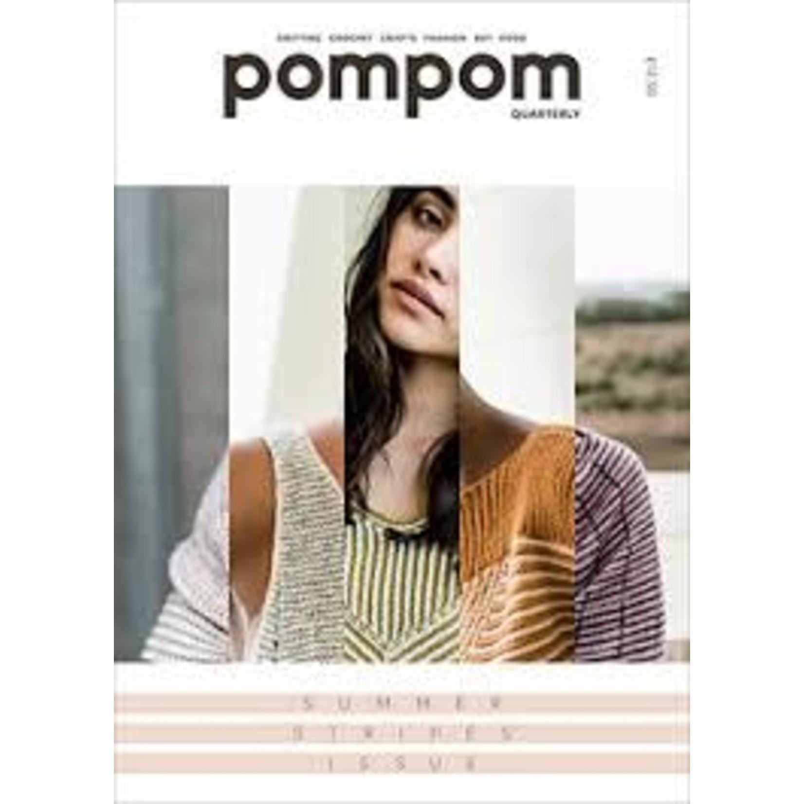 Pom Pom Publishing pompom Quarterly - Summer 2018 - Summer Stripes Issue