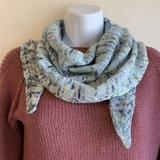 Simple Cablette Shawl