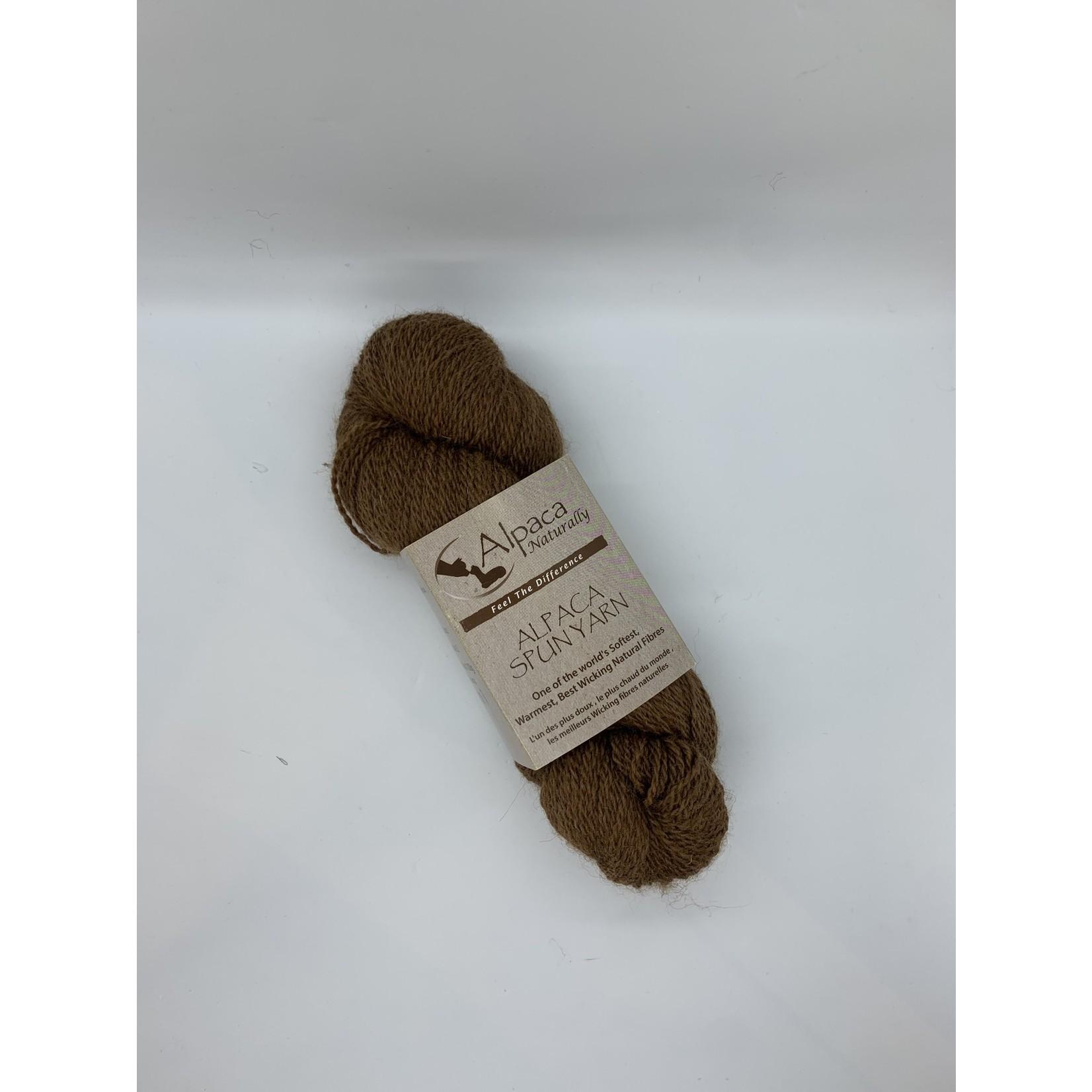 Alpaca Naturally Spun Yarn - Fingering