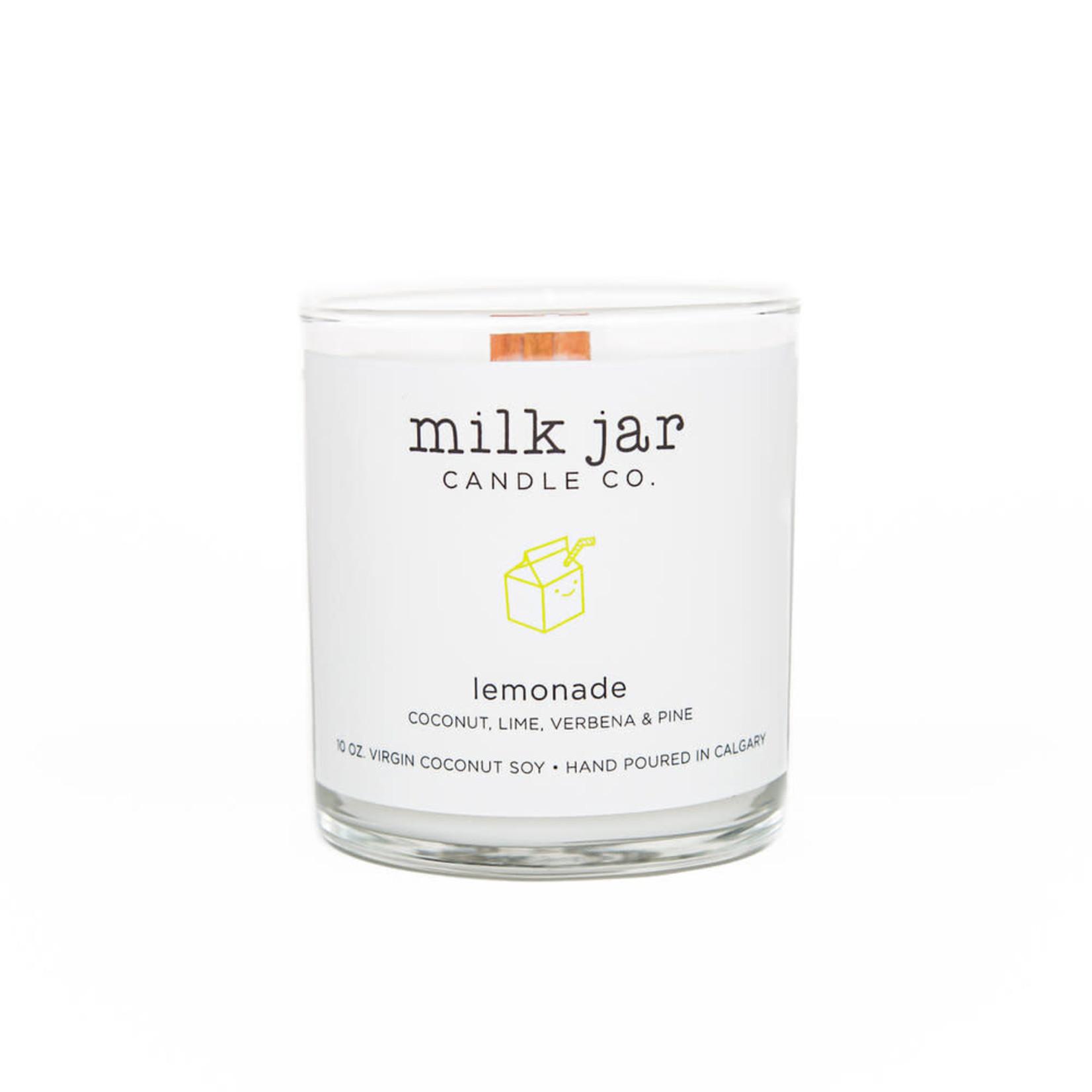 Milk Jar Candle Co. Lemonade Candle