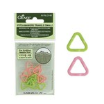 Clover Clover Stitch Markers Triangle (Small)