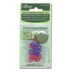 Clover Clover Stitch Markers Triangle (XS)